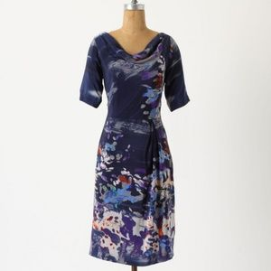 Anthropologie Dresses - Anthropologie Japonica Silk Dress